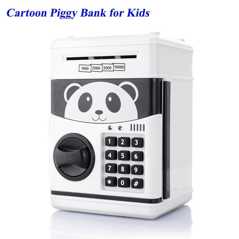 FALERY Electronic Money Bank Cartoon Password Piggy Cash Coin