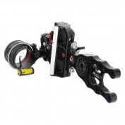 Axcel Archery Sights Accutouch X31 Housing HD .019 Sight, Right Hand/Left Hand, Black