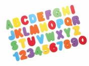SevenMye 36-pcs Foam Alphabet Letters Numbers Baby Activity Entertainment Bath Toy