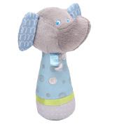 Lalang Baby Kids Lovely Soft Hand Bells Elephant Handbell Developmental Toy