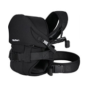 MixMart 6-in-1 Ergonomic Stretchy Baby Carrier for Newborns Infants Toddlers with Airflow 3D Mesh