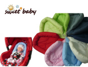 Sweet Baby * * Navy * * Softy Newborn Insert Seat Reducer for Baby Car Seat Gr. 0/0 + e.g. Maxi Cosi/Römer etc