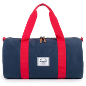 HERSCHEL SUPPLY CO. Sutton Mid-Volume Duffel Bag - Navy/Red