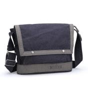 Men's bags/single shoulder bag/messenger bag/Canvas bag/Mens bag/College bag/Sports boom-A