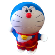 "DORAEMON Wild PRIMITIVE Big FIGURE 30cm 12"" ACTIN From Movie NOBITA THE BIRTH OF JAPAN"