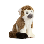 Living Nature - Squirrel Monkey - Soft Toy - 18cm