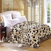 BDUK Blanket Faller Fluffy Duffet Thick Coral Air-Conditioning And Ventilation In The Cloud, Lint-Free Cloth Then Double C) 70*100Cm