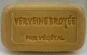 0.1kg hand-poured SOAP 'ground Verbena (Verveine)' made of South of france, with Plant pieces