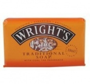 THREE PACKS of Wrights Coal Tar Soap 125g