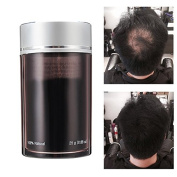 LM Black Additional Hair Growth Building Fibre Powder Wig Hair Dense Styling Treatment Loss Thicker 25g