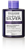 THREE PACKS of Provoke Touch of Silver Brightening Shampoo 150ml