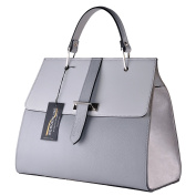 BORDERLINE - 100% Made in Italy - Genuine Leather Woman'S Handbag - ANNA