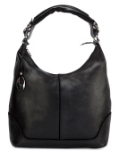Phive Rivers Women's Leather Hobo Bag