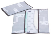 Little Dutch 3488 Changing Bag, Grey with Planes