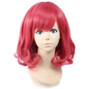 Etruke Short Anime Rose Noragami Kofuku Wave Cosplay Wigs