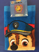 PAW PATROL - CHASE - Wash Flannel Face Cloth - Bathing Accessories-100% Cotton, 30 x 30cm
