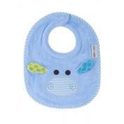 Zoocchini Terry Bib-Henry the Hippo/Blue