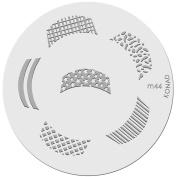 Konad Stamping Nail Art Image Plate M44