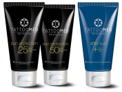 TattooMed All in Bundle Sun - tattoo-suncare, colour protection, tattoo care & after sun