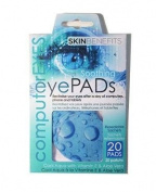 Computer Eyes - Cool Aqua Eye Pads