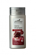 Alviana Organic Cosmetics Gloss Shampoo Organic Pomegranate 200 ml Vegan Natrue Silicone-Free