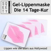 The Real Collagen Lip Mask/ 4pcs / Treat your lips like a Star - The ultimate trend from the US!