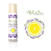 100% Natural Lip Balm -Lavender & Lemon - Soothing, Relaxing