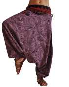 virblatt harem pants unisex aladdin pants alternative clothing S-L - Melodie