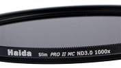 Haida Slim Pro II MC Neutral Density Filter/Multi-Coated ND1000x 46 mm/Thin Base and Cap with Inner Grip