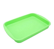 meyfdsyf Kitchen Tools Rectangle Tray Nonstick Flexible Silicone Oven Cake Baking DIY Bread Loaf Toast Mould