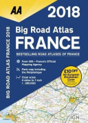 AA Big Road Atlas France: 2018