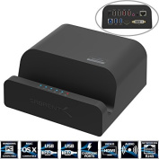 Sabrent USB 3.0 Universal Docking Station with Stand for Tablets and Laptops supports Windows & Mac