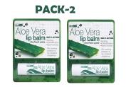 Aloe Vera Lip Balm 4g x 2 Pack Deal Saver