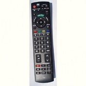 BC Electronics Replacement TV Remote Control for Panasonic N2QAYB000238