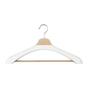 BUMERANG - Shoulder shaper for hanger, white