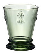 La Rochere Bee Goblet Tumbler Glass in Green