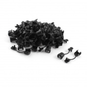 80Pcs Wires Protectors Strain Relief Bushing for 7mm Width Flat Cables