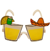 1 x Mexican Tequila Shot Sombrero Fancy Dress Glasses for Man