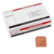 50 x Elastic Fabric 4cm x 4cm Premium Plasters - Steroplast Brand