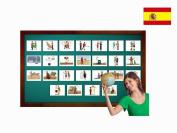 Tarjetas de vocabulario - Nacionalidades - Spanish Nationalities and Traditions Flashcards