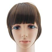 Beau-Lady SideBurns Bangs Fake Hair Bangs Clip In Bangs Front Hair Extension