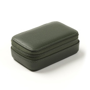Small Zip Case - Full Grain Leather - Hunter Green