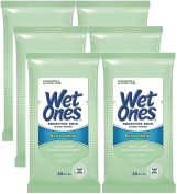 Wet Ones Sensitive Skin Hands & Face Wipes, 20 Count Travel Pack