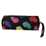 Cosmetic Bags, Toraway Women Portable Heart Square Multicolor Travel Cosmetic Bags