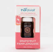 Therawell TW103 100% Pure Aromatherapy Essential Oil, Grapefruit