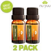 Nu Yuu Tea Tree (Melaleuca) 100% Pure Therapeutic Grade Essential Oil (2-Pack), Size 10 mL