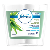 Febreze Air Freshener, Scented Air Freshener Candle, Meadows and Rain Air Freshener, 130ml