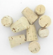 100 Pcs Small Body Natural Piercing Corks for Needles Tool Stopper Jewellery Stud by BodyJewelryOnline