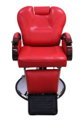 Exacme Hydraulic Recline Barber Chair Salon Beauty Spa Shampoo Chair Red 8705RD