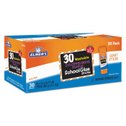 Elmers EPIE605 Disappearing Purple School Glue Sticks, 30 Per Box by Elmers